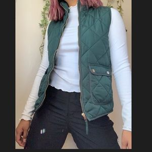 Thread & Supply Emerald Green Vest